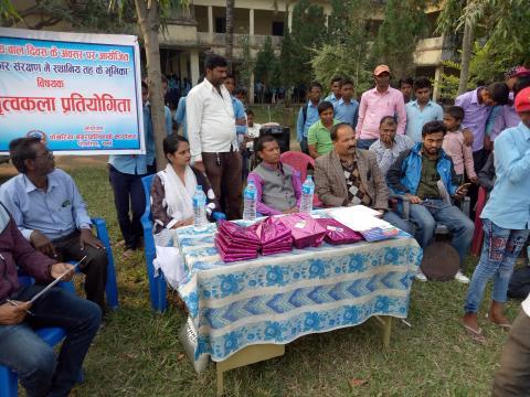 नगर प्रमुख श्री दीप नारायण रौनियार जिउ को अध्यक्षता मा कार्यक्रम संचालन गरिदै |